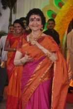 Vyjayanthimala at Esha Deol_s wedding in Iskcon Temple on 29th June 2012 (175).JPG
