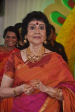 Vyjayanthimala at Esha Deol_s wedding in Iskcon Temple on 29th June 2012 (176).JPG