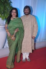 Roop Kumar Rathod, Sonali Rathod at Esha Deol_s wedding reception in five-star hotel,Mumbai on 30th June 2012 (80).JPG