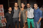 Amit Purohit, Aabid Shamim, Pitobash Tripathy, Harsh Rajput, Ruhi Chaturvedi at Aalaap film music launch in Mumbai on 2nd July 2012 (63).JPG