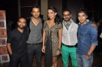Amit Purohit, Aabid Shamim, Pitobash Tripathy, Harsh Rajput, Ruhi Chaturvedi at Aalaap film music launch in Mumbai on 2nd July 2012 (64).JPG