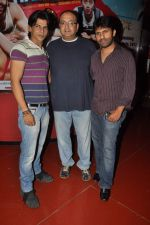 Amaan Khan,Vivek Vaswani, Shawn Arranha  at Life is Good first look in Cinemax, Mumbai on 5th July 2012 (22).JPG