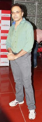 Harsha Chhaya at Ektanand Pictures LIFE IS GOOD trailer launch in Cinemax, Mumbai on 5th JUly 2012.jpg