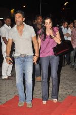 Sunil Shetty, Mana Shetty at the special screening of Bol Bachchan in Cinemax, Mumbai on 5th July 2012 (42).JPG