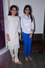 Shriya Saran, Shaina NC at Nana Chudasma_s Save Mumbai foundation in Churchgate, Mumbai on 8th July 2012 (15).JPG