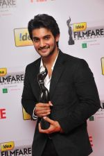 Aadi received The Best Debut Actor (Critics) Award for the Film_ Prema Kavali_ at the _59th !dea Filmfare Awards 2011_ (South) on 8th July at Jawaharlal Nehru indoor stadium, Chennai..jpg