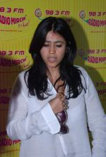 Ekta Kapoor at Radio Mirchi in Mumbai on 9th July 2012 (10).JPG