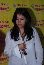 Ekta Kapoor at Radio Mirchi in Mumbai on 9th July 2012 (11).JPG