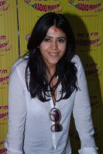 Ekta Kapoor at Radio Mirchi in Mumbai on 9th July 2012 (12).JPG