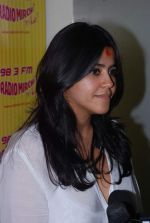 Ekta Kapoor at Radio Mirchi in Mumbai on 9th July 2012 (17).JPG