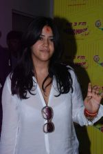 Ekta Kapoor at Radio Mirchi in Mumbai on 9th July 2012 (8).JPG