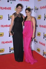 Kajal Aggarwal & Kasthuri at the Red Carpet of _59th !dea Filmfare Awards 2011_ (South) on 8th July at Jawaharlal Nehru indoor stadium, Chennai..jpg