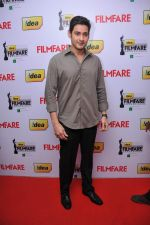 Mahesh Babu received  The Best Actor Award (Telugu) for the Movie _Dookudu_ at the _59th !dea Filmfare Awards 2011_ (South) on 8th July at Jawaharlal Nehru indoor stadium, Chennai..jpg