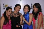Nisha, Kajal Aggarwal, Tamanna & Shruti Hassan at the Red Carpet of _59th !dea Filmfare Awards 2011_ (South) on 8th July at Jawaharlal Nehru indoor stadium, Chennai..jpg