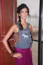Poorna Jagannathan proudly declares, I AM A VEGETARIAN in new PETA AD in Mumbai on 9th July 2012 (13).JPG