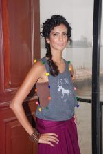Poorna Jagannathan proudly declares, I AM A VEGETARIAN in new PETA AD in Mumbai on 9th July 2012 (14).JPG