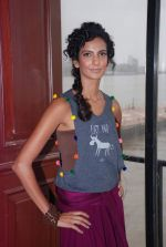 Poorna Jagannathan proudly declares, I AM A VEGETARIAN in new PETA AD in Mumbai on 9th July 2012 (15).JPG