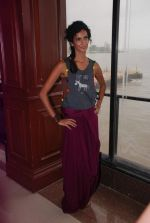 Poorna Jagannathan proudly declares, I AM A VEGETARIAN in new PETA AD in Mumbai on 9th July 2012 (20).JPG