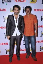 Ram & Brahmaji at the Red Carpet of _59th !dea Filmfare Awards 2011_ (South) on 8th July at Jawaharlal Nehru indoor stadium, Chennai..jpg