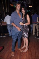 Milind Soman at MTV Rush press meet in Red Ant Cafe, Mumbai on 10th July 2012 (67).JPG