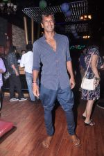 Milind Soman at MTV Rush press meet in Red Ant Cafe, Mumbai on 10th July 2012 (69).JPG