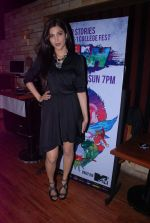 Shruti Hassan at MTV Rush press meet in Red Ant Cafe, Mumbai on 10th July 2012 (34).JPG