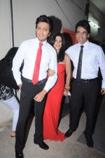 Tusshar Kapoor, Ekta Kapoor, Riteish Deshmukh at the Promotion of Kyaa Super Kool Hain Hum in Mumbai on 13th July 2012 (2).JPG