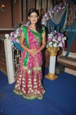 Aakanksha Singh at Na Bole Tum Na Maine Kuch Kaha on location for sangeet ceremony in Malad on 17th July 2012 (158).JPG