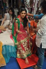 Aakanksha Singh at Na Bole Tum Na Maine Kuch Kaha on location for sangeet ceremony in Malad on 17th July 2012 (216).JPG