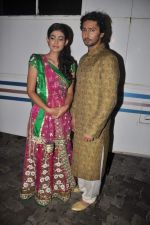 Aakanksha Singh, Kunal Karan Kapoor at Na Bole Tum Na Maine Kuch Kaha on location for sangeet ceremony in Malad on 17th July 2012 (164).JPG