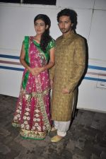 Aakanksha Singh, Kunal Karan Kapoor at Na Bole Tum Na Maine Kuch Kaha on location for sangeet ceremony in Malad on 17th July 2012 (166).JPG