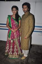 Aakanksha Singh, Kunal Karan Kapoor at Na Bole Tum Na Maine Kuch Kaha on location for sangeet ceremony in Malad on 17th July 2012 (170).JPG