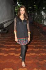 Diana Hayden at Brught Advertising_s We Love Mumbai campaign in Mumbai on 24th July 2012 (49).JPG