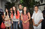 Evelyn Sharma, Bidita Bag, Karan Sagoo, Sharad Malhotra, Prateek Chakravorty at Brught Advertising_s We Love Mumbai campaign in Mumbai on 24th July 2012 (11).JPG