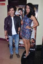 Harsh Rajput, Ruhi Chaturvedi promote the movie Aalap in Mumbai on 25th July 2012 (13).JPG