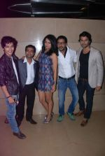 Harsh Rajput, Ruhi Chaturvedi, Amit Purohit promote the movie Aalap in Mumbai on 25th July 2012 (38).JPG
