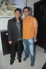 Kamaal Khan with Nasir Khan at Kamaal Khan_s house warming celebration party in Mumbai on 29th July 2012.JPG