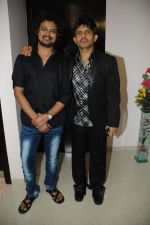 Kamaal Khan with Raja Hassan at Kamaal Khan_s house warming celebration party in Mumbai on 29th July 2012.JPG