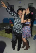 Kamaal Khan with a Friend at Kamaal Khan_s house warming celebration party in Mumbai on 29th July 2012 (2).JPG