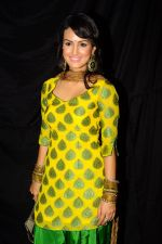 Nisha Rawal at Life Ok Azaadi Special Show in RK Studios,Mumbai on 29th July 2012 (50).JPG