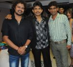 Raja hasan with Kamaal Khan  and Khayali at Kamaal Khan_s house warming celebration party in Mumbai on 29th July 2012.JPG