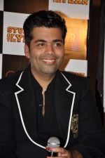 Karan Johar at Student of the Year first look in PVR on 2nd Aug 2012 (375).JPG