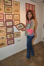 farzana contractor at antique Lithographs charity event hosted by Gallery Art N Soul in Prince of Whales Musuem on 3rd Aug 2012 .JPG