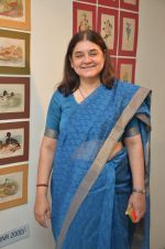 maneka gandhi at antique Lithographs charity event hosted by Gallery Art N Soul in Prince of Whales Musuem on 3rd Aug 2012 (8).JPG