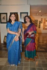 maneka gandhi,Ananya Banerjee at antique Lithographs charity event hosted by Gallery Art N Soul in Prince of Whales Musuem on 3rd Aug 2012 (16).JPG