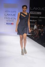 Model walk the ramp for Atithi Gupta show at Lakme Fashion Week 2012 Day 5 in Grand Hyatt on 7th Aug 2012 (47).JPG