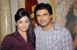 Samir Soni,Sonia Singh on the sets of Parichay - Nayee Zindagi Kay Sapno Ka in Mumbai on 9th Aug 2012 (30).JPG