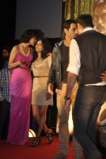 Anjali Patil, Esha Gupta, Arjun Rampal at the First look launch of Chakravyuh in Cinemax on 17th Aug 2012 (117).JPG