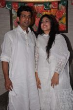 Anurita Jha, Vineet Singh with Cast of Gangs of Wasseypur 2 at Iftaar party in Bandra,Mumbai on 17th Aug 2012 (49).JPG