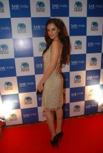 Evelyn Sharma on the red carpet of Indus Pride in ITC Parel on 18th Aug 2012 (140).JPG